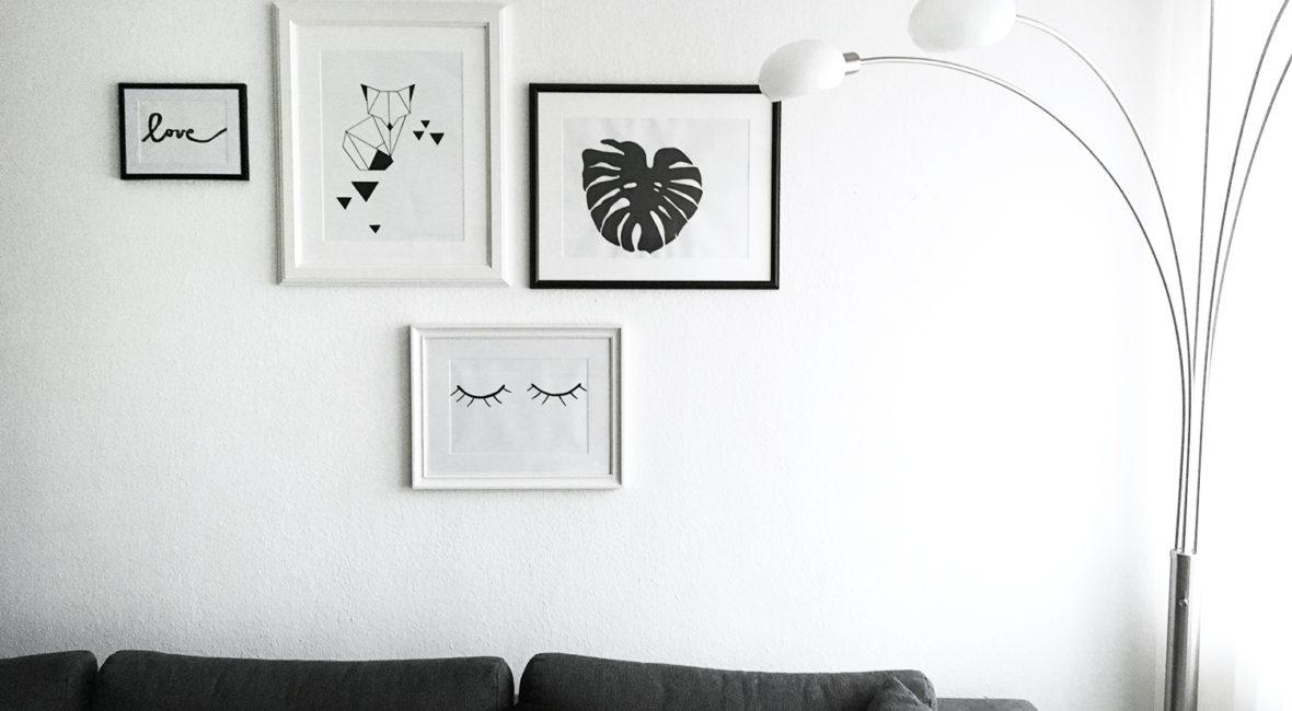 DIY - Bilderwand arrangieren, dekorieren und gestalten