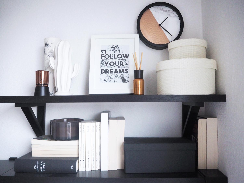 diy kupfer marmor uhr. Black Bedroom Furniture Sets. Home Design Ideas