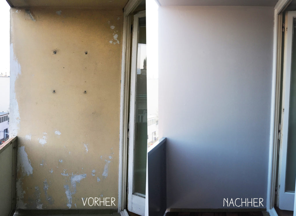 diy-balkon-wand-vorher-nachher
