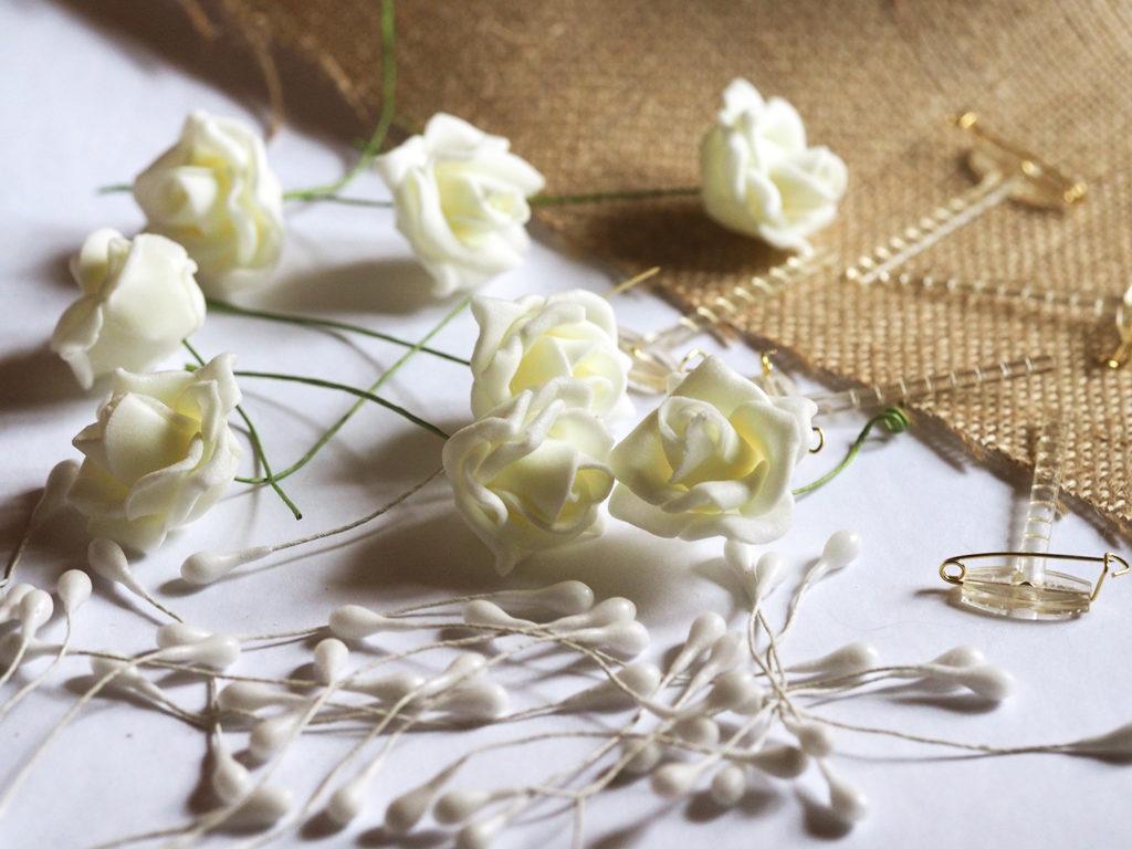 Vintage Wedding Diy Hochzeitsanstecker Aus Spitze Und Jute