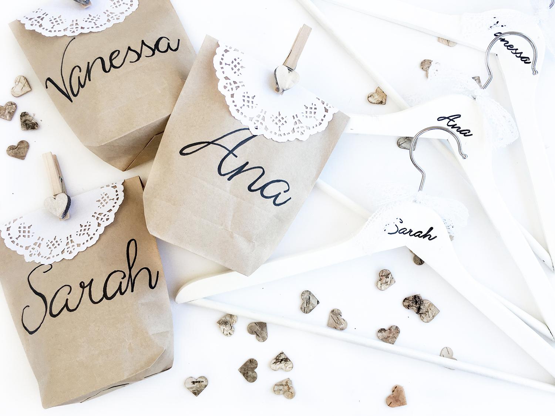 Geschenke für deine Brautjungfern