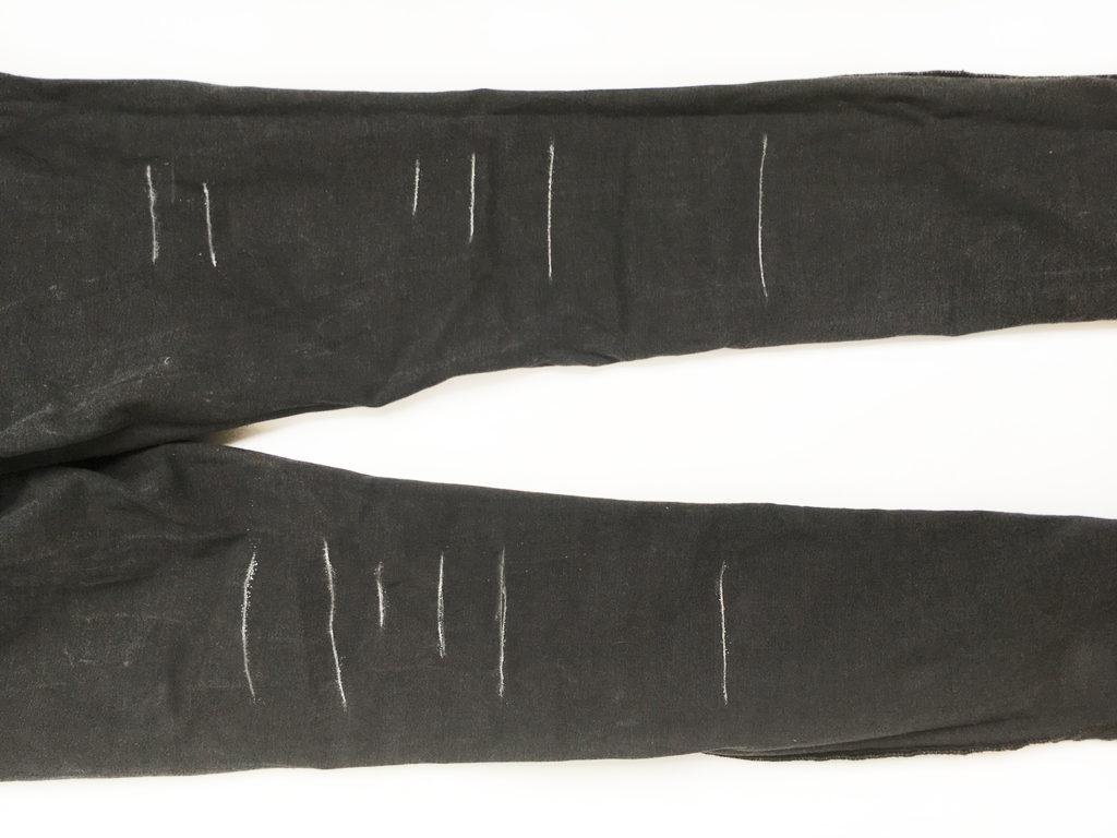 diy-destroyed-jeans-schnitte-einzeichnen