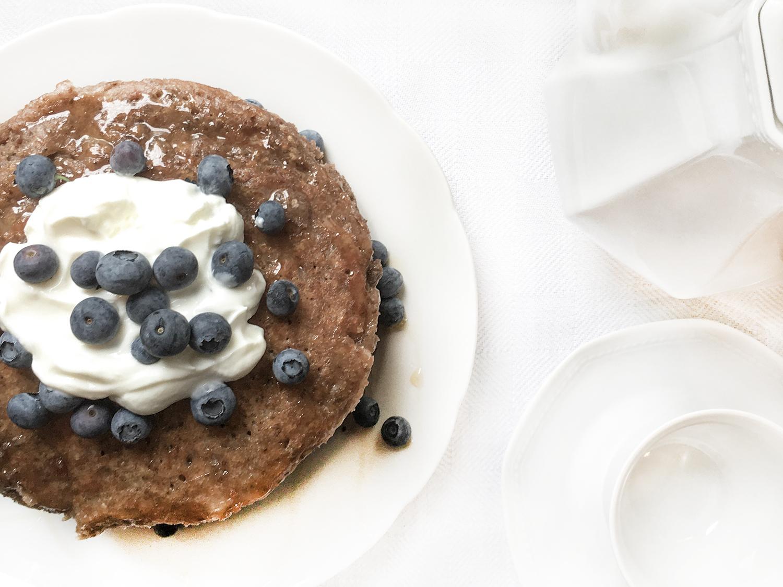Chiasamen - Bananen - Pancakes
