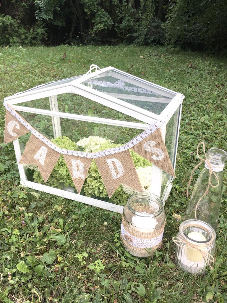 Kartenbox Hochzeit Glas.Ikea Hack Kartenbox Im Vintagestil Fur Deine Hochzeit