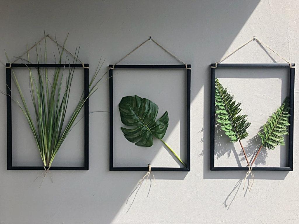 diy-bilderrahmen-pflanzenbilder-balkon-garten-fertig