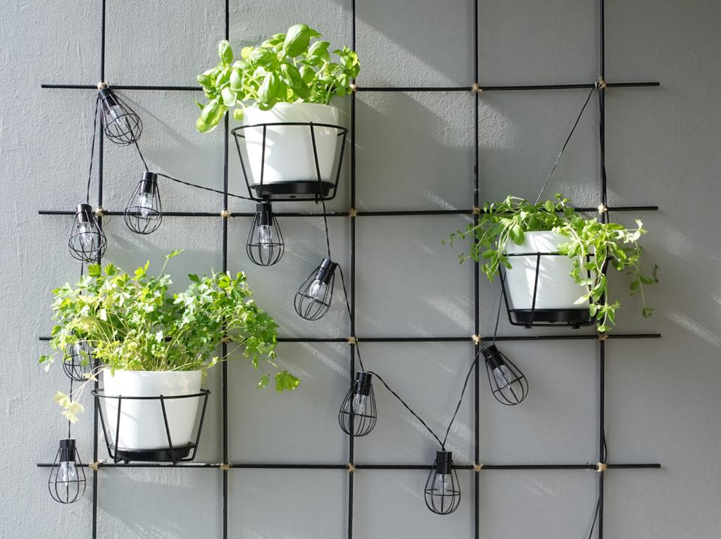 DIY Pflanzengitter