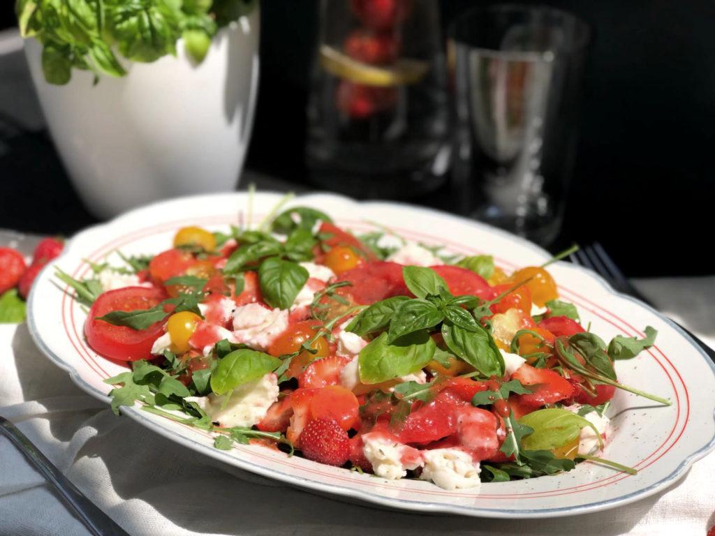 lowcarb-fitness-erdbeeren-salat-rezept