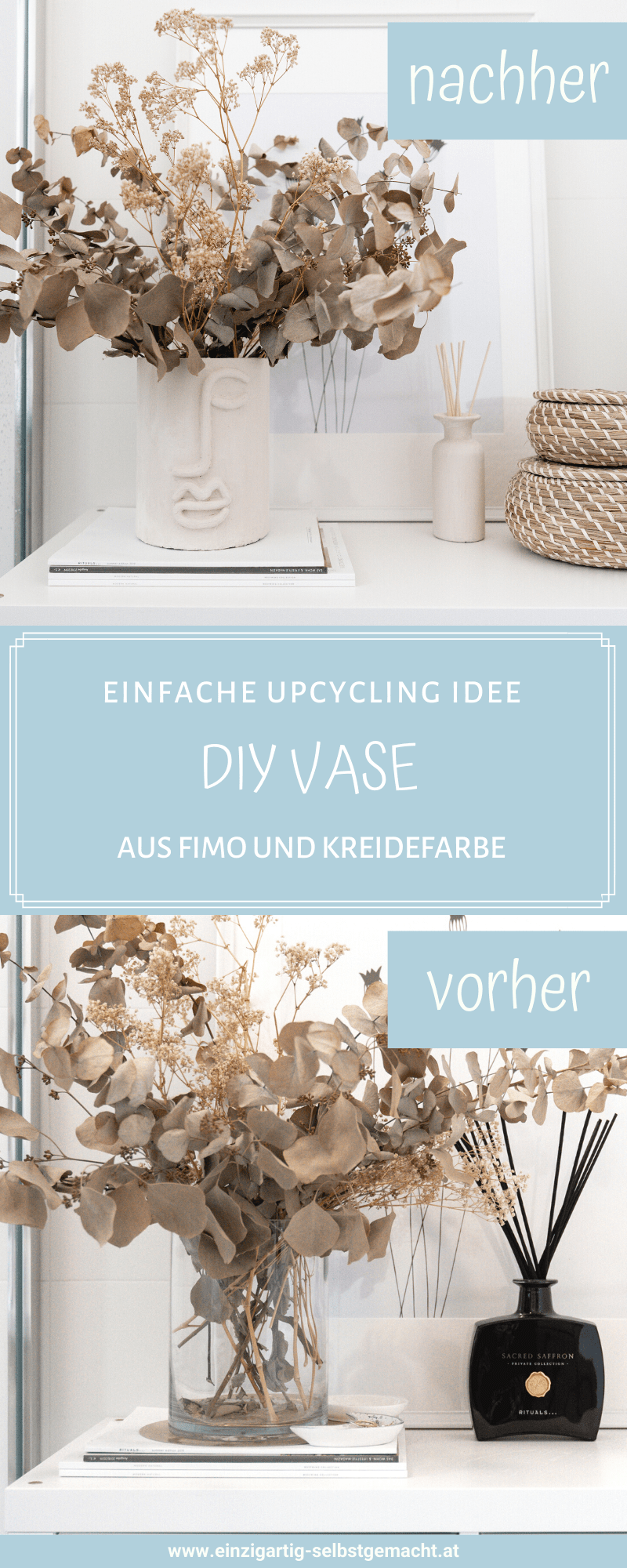 diy upcycling vase